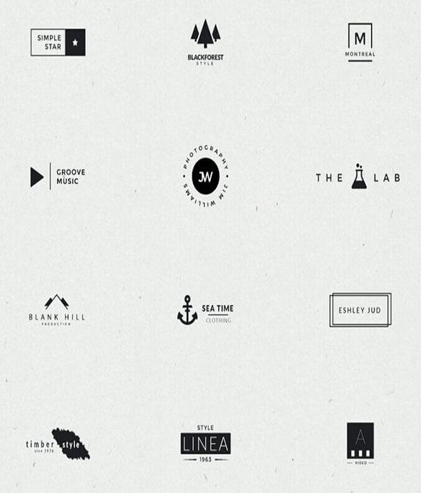 Diff-Minimal-Logo-Design