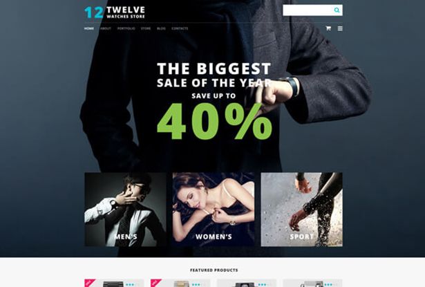 Discount Store WordPress Theme