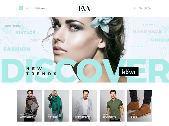 Discover Store WordPress Theme