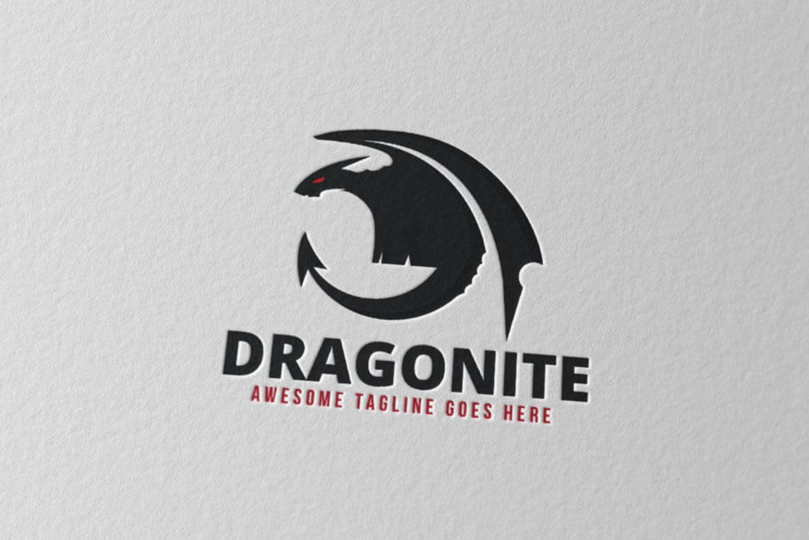 Dragonite Logo Design
