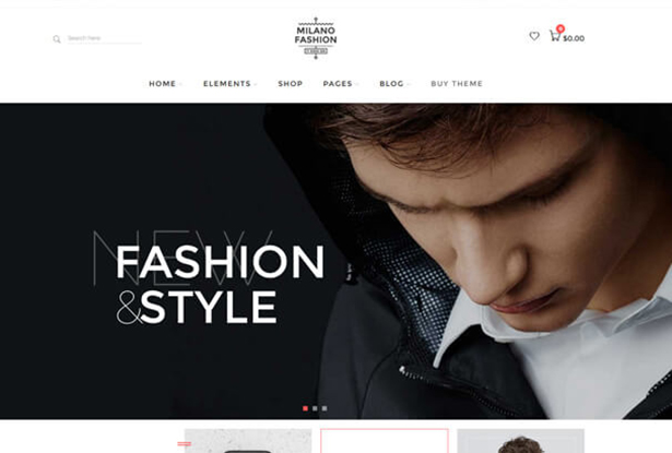 Fashion Style T Shirt Store WordPress