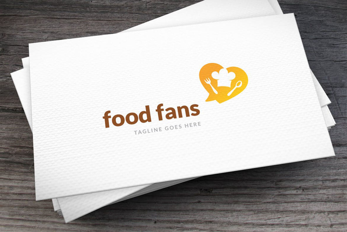 Food Fans Logo Design