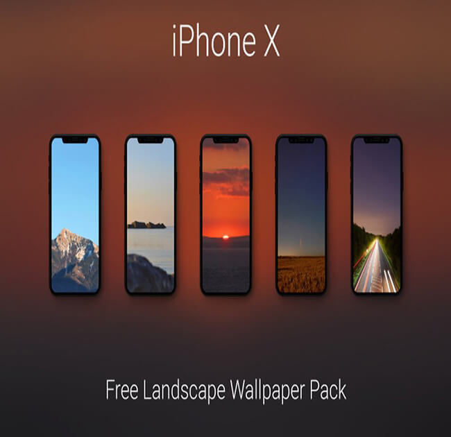 Free iPhone X Landscape Best Free