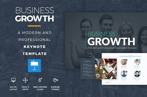 Growth Keynote Template