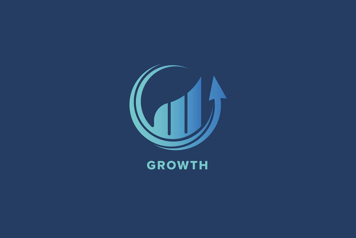 Growth Logo Template