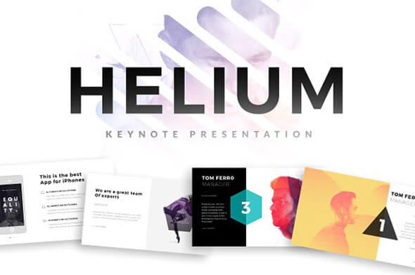 HELIUM For Keynote Template