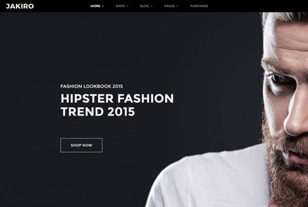 Hipster Look T Shirt Store WordPress