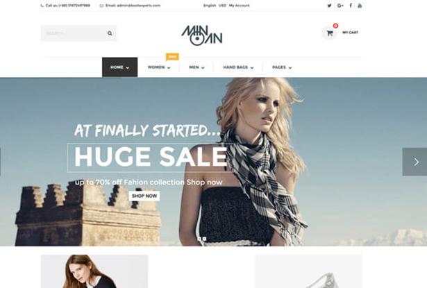 Huge T Shirt Store WordPress