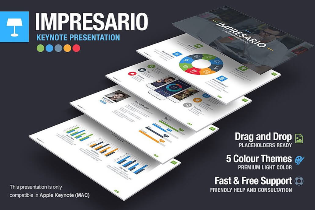 Impresario For Keynote Template
