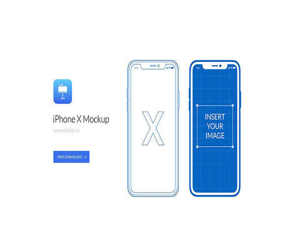 Keynote Free iPhone X