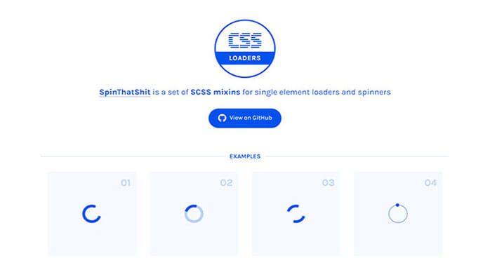 Loaders Best CSS Library