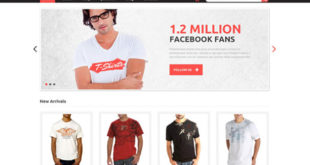 T-Shirt Store WordPress Themes