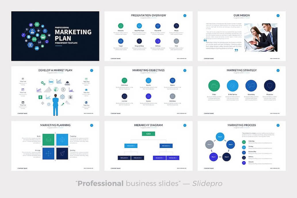 Marketing Plan For Best Keynote Template