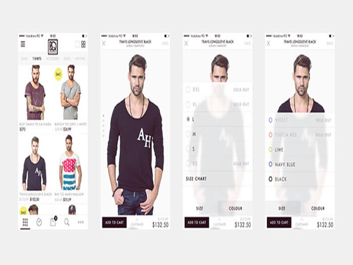 Men Ecommerce UI Kit