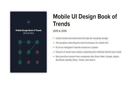 Mobile UIFree eBooks for Web
