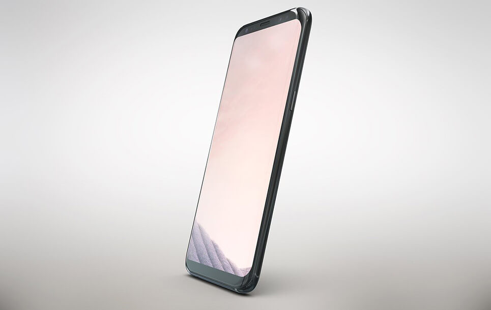 Mock Up Galaxy S8