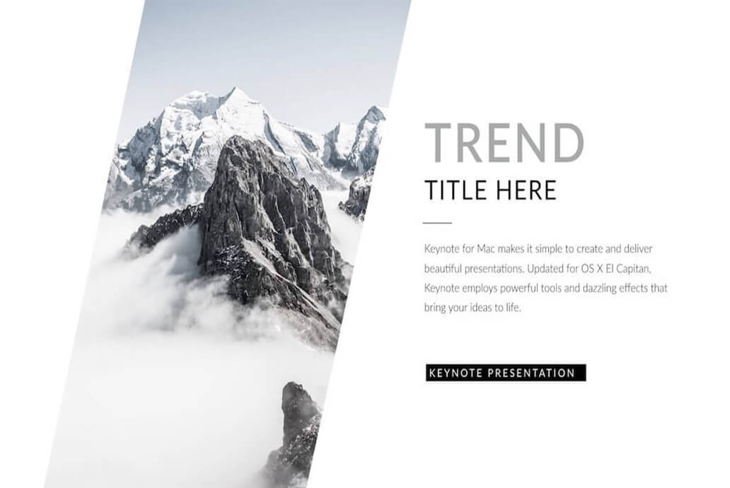 Modern Clean Best Keynote Template For