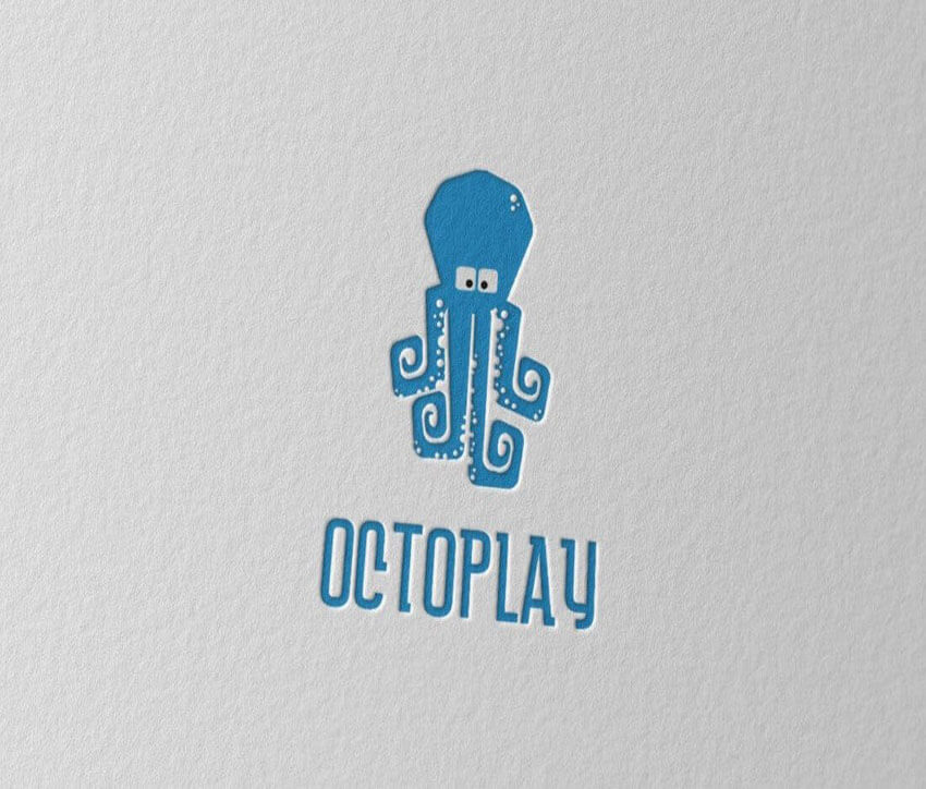 Octoplay Logo Design Template
