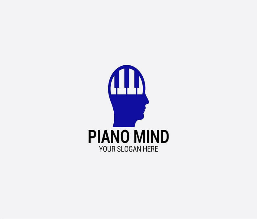 PIANO Logo Design Template