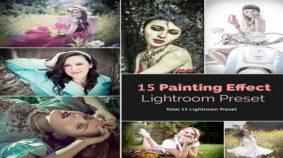 Painting Effect Preset for Photographer