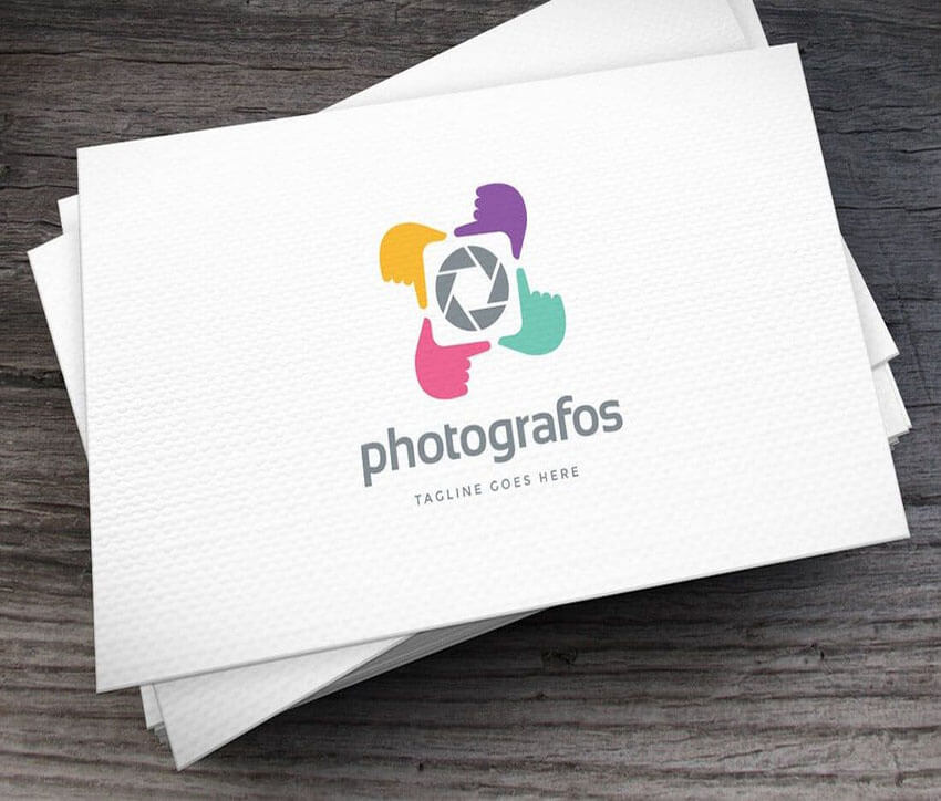 Photografos Logo Template