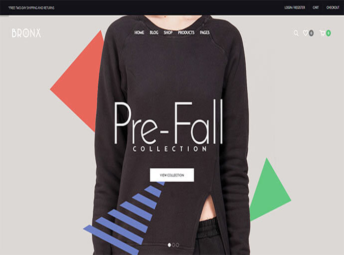 Pre Fall Responsive T Shirt Store