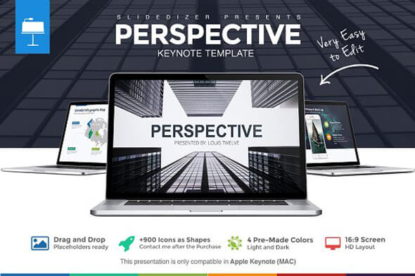 Prespective Keynote Template For Presentation