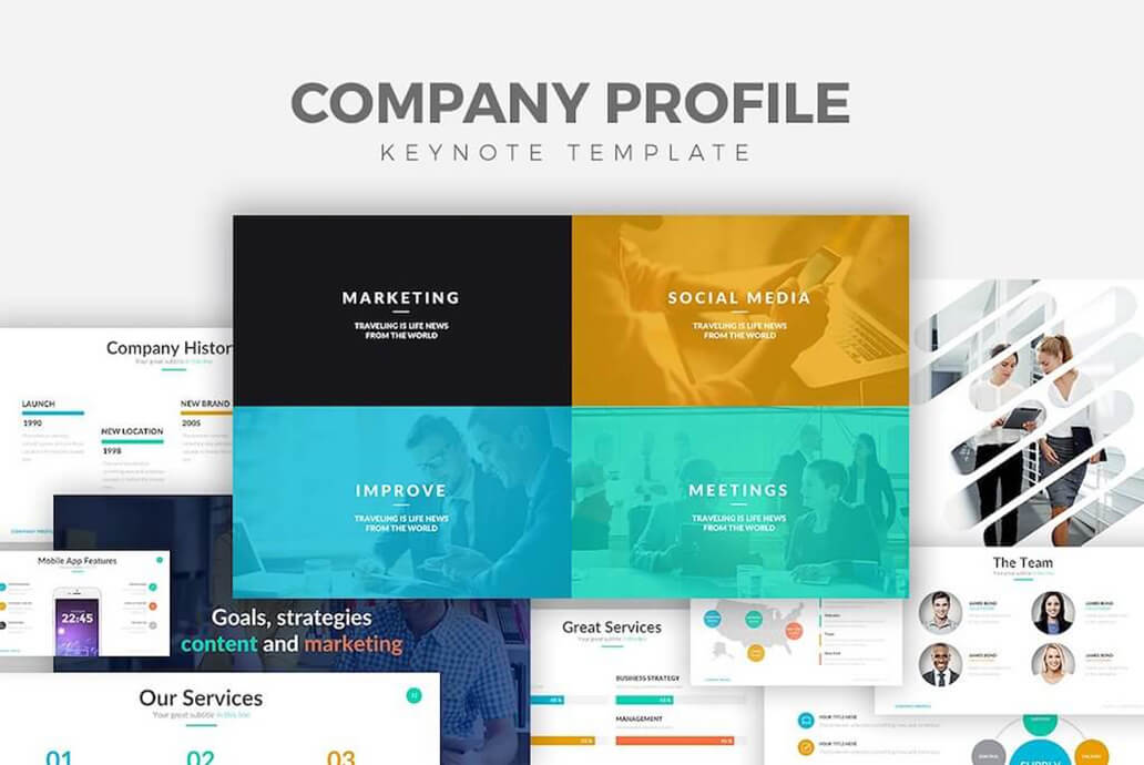 Profile Template for Presentation