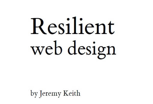 Resilient Free eBooks for Web