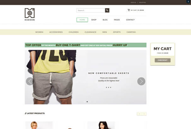 Home Responsive T Shirt Store