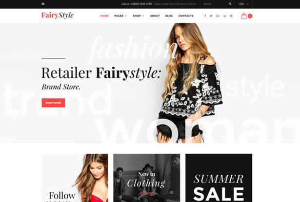 Retail WordPress Theme