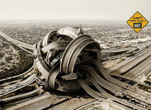 Roads Photo Manipulation