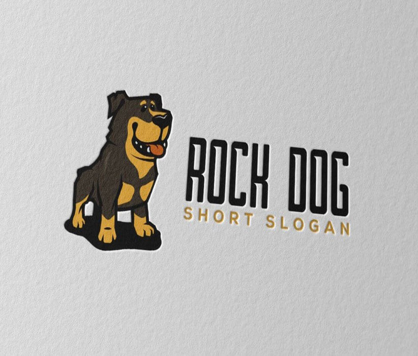 RockDog Logo Design Template