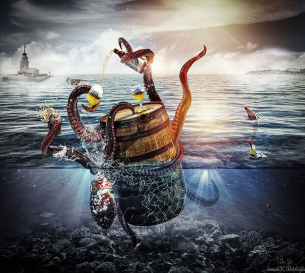 Sea Extremely Creative Photo Manipulation