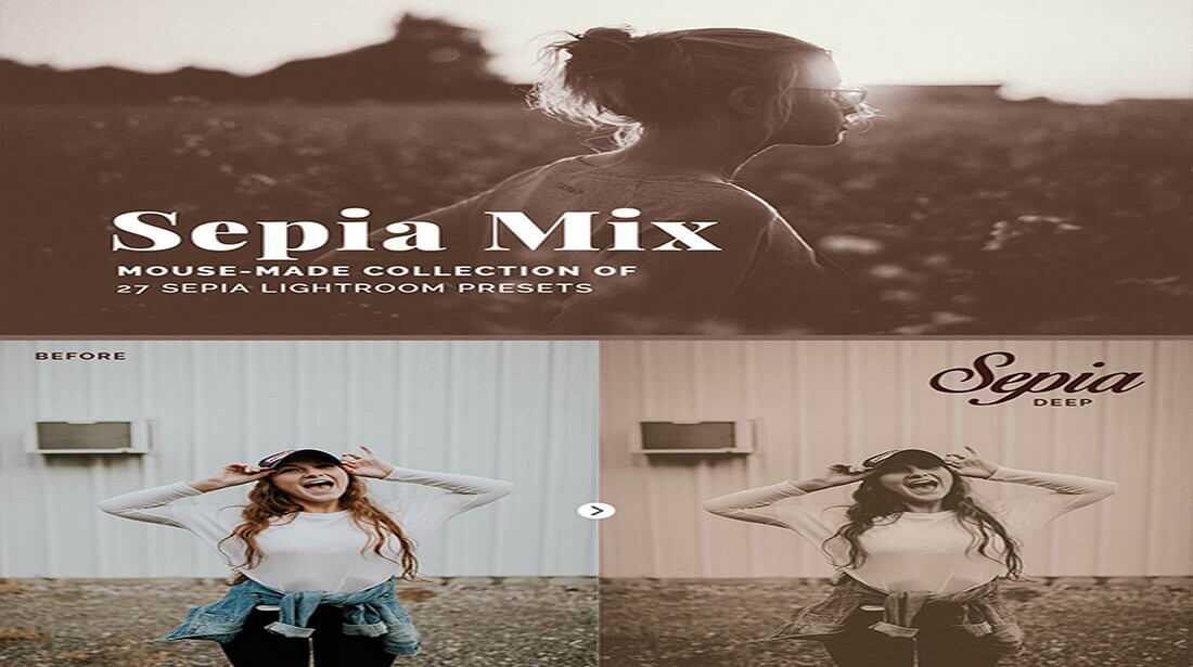 Sepia Mix for Photographer