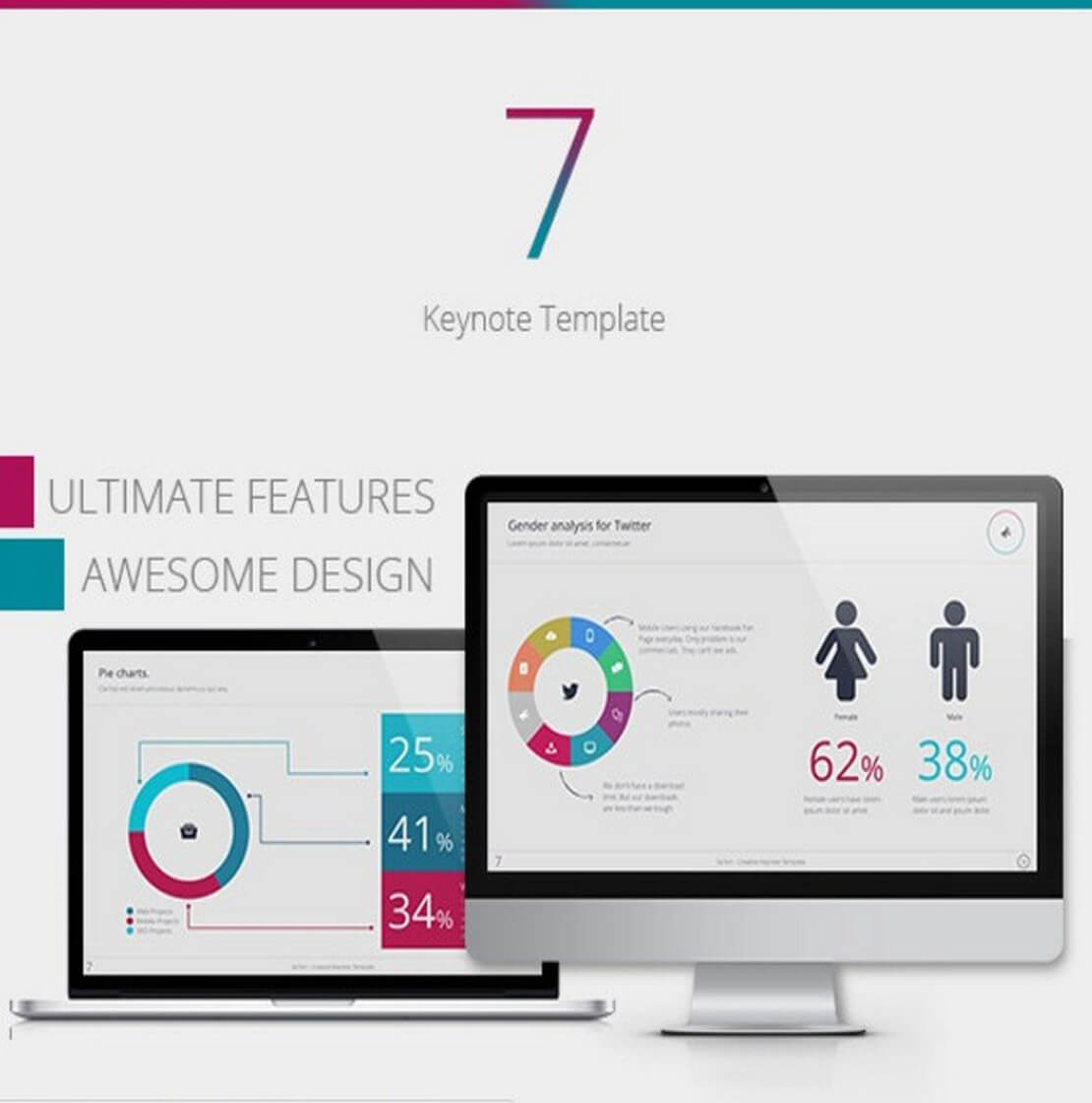 Seven Keynote Template For Presentation