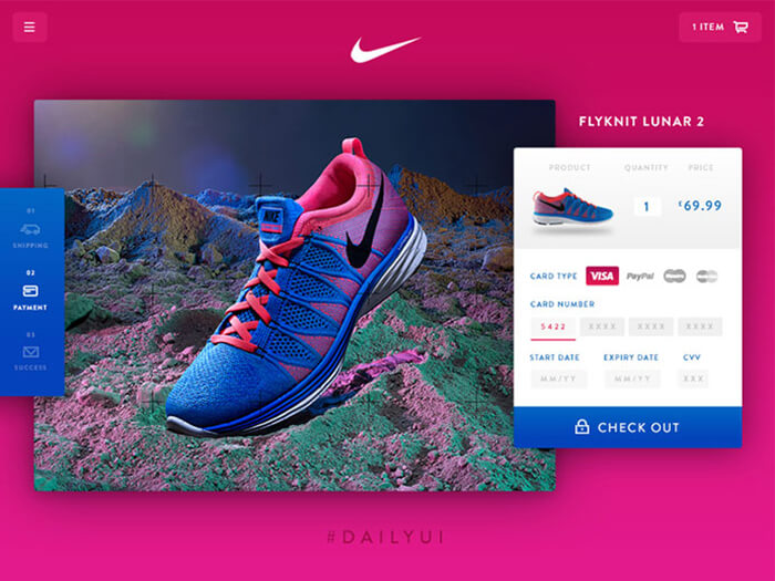 Shoe Ecommerce UI Kit