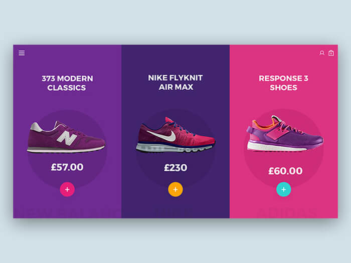 Shoe UI Kit