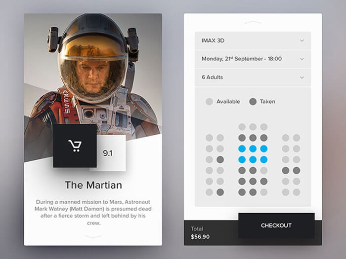 Space Ecommerce UI