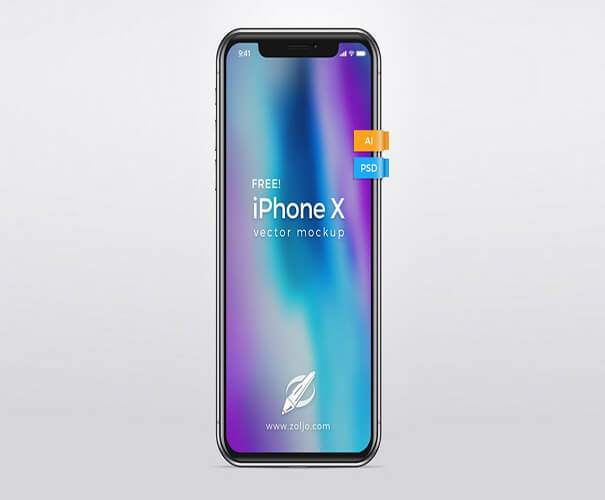 Vector Mockup iPhone X