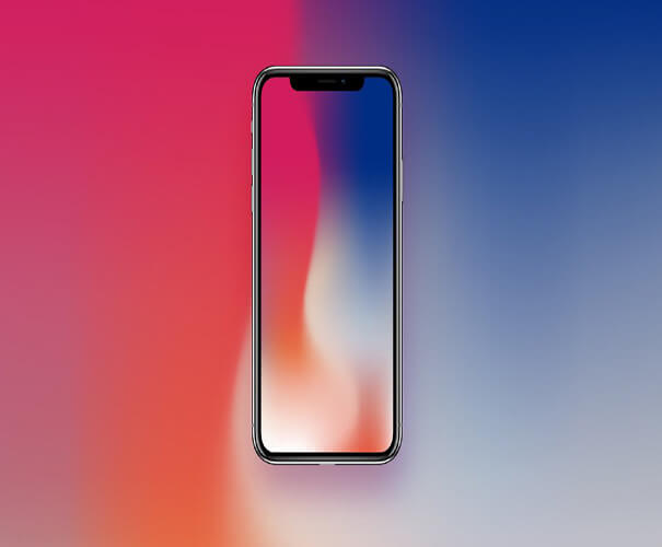 Wallpapar iPhone X Mockup Template