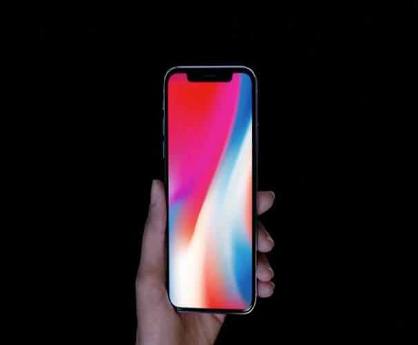 Wallpaper Official iPhone X Mockup Template