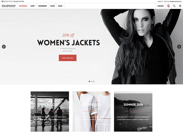 Women Store WordPress