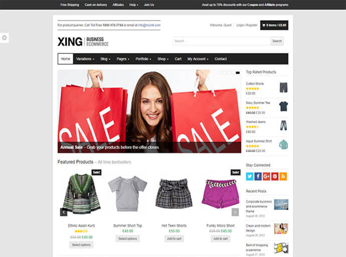 XING Store WordPress