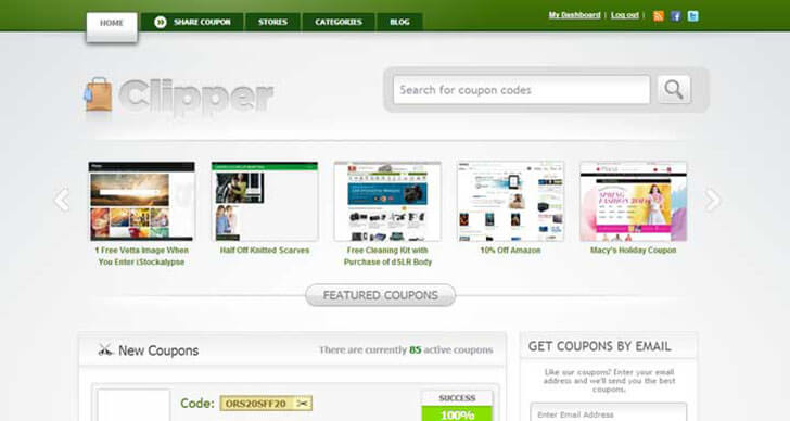 clipper coupon Responsive Daily