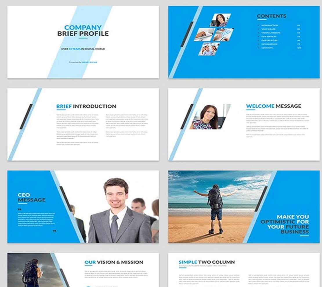 company Template for Presentation