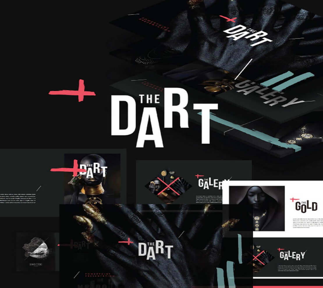 dart Template for Presentation