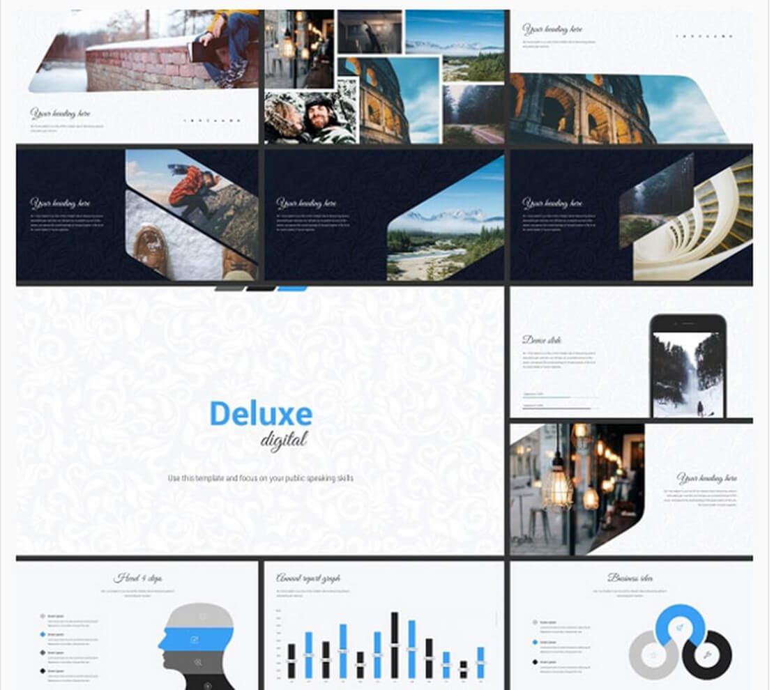 deluxe Template for Presentation