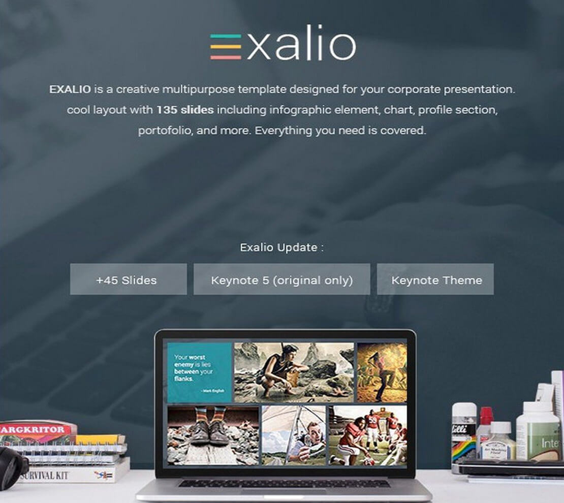 exalio Best Keynote Template