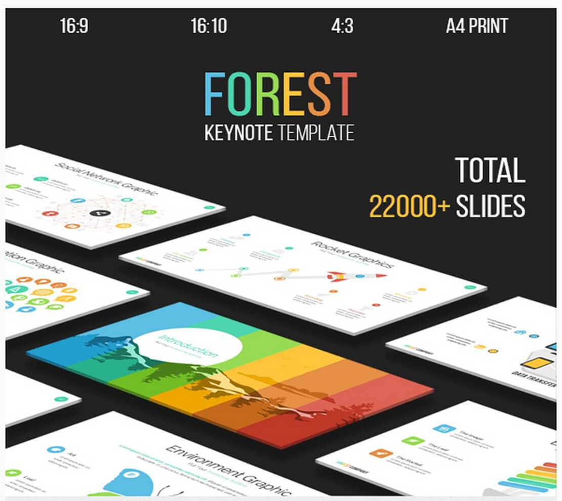 forest Best Keynote Template